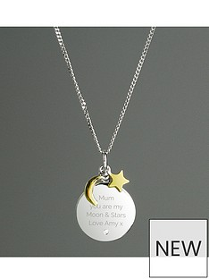 personalised-sterling-silver-9ct-gold-plated-i-love-you-to-the-moon-and-back-necklace