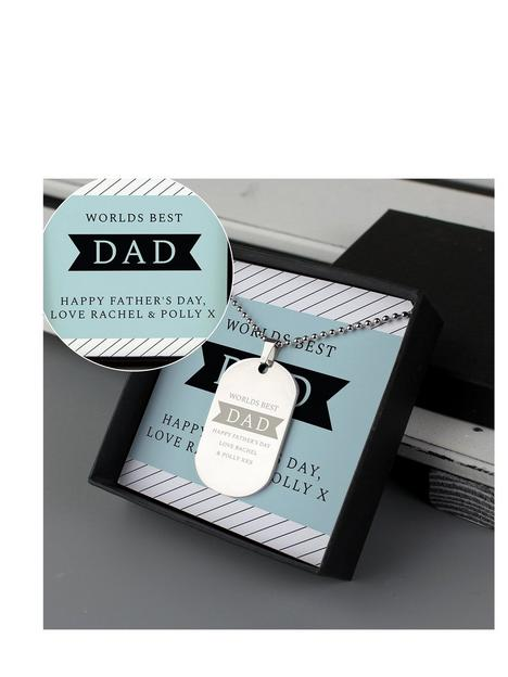 the-love-silver-collection-personalised-dad-box-with-dog-tag-pendant