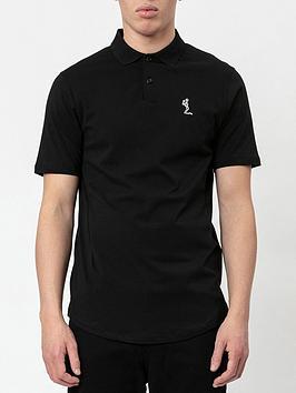 Religion Core Classic Jersey Polo Shirt - Black