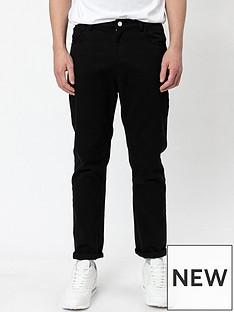 religion-kick-straight-fit-jeans-black