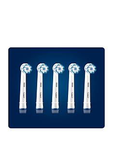 oral-b-oral-b-clean-and-care-sensitive-clean-replacement-toothbrush-head-pack-of-5-counts