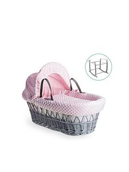 clair-de-lune-dimple-grey-wicker-basket-with-grey-deluxe-stand-pink