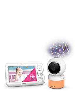 vtech-vtech-5-pan-tilt-video-monitor-with-night-light-and-projection