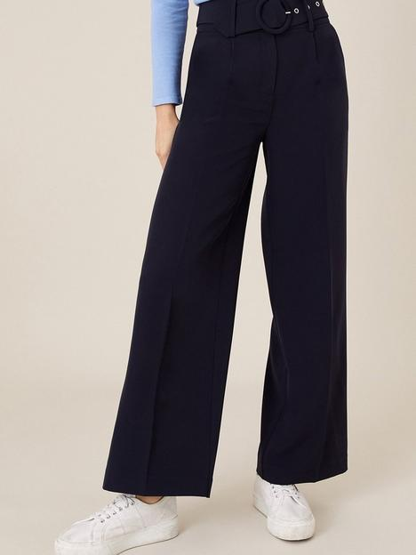 monsoon-wide-leg-circle-belted-trouser-navy