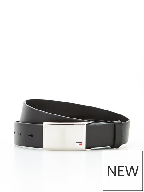 tommy-hilfiger-th-plaque-leather-belt