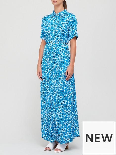 fabienne-chapot-mia-printed-dress-blue