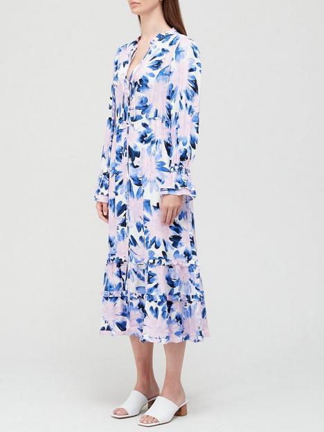 fabienne-chapot-marigoldnbspprinted-midi-dress-blue