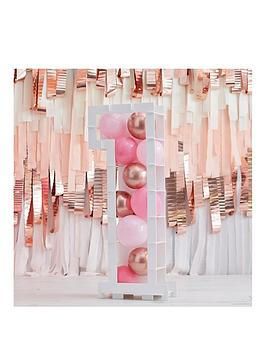 ginger-ray-blush-balloons-with-number-mosaic-stand