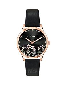 ted-baker-ted-baker-black-and-rose-gold-detail-floral-print-dial-black-leather-strap-ladies-watch