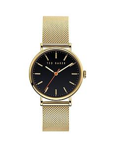 ted-baker-ted-baker-navy-dial-gold-stainless-steel-mesh-strap-ladies-watch