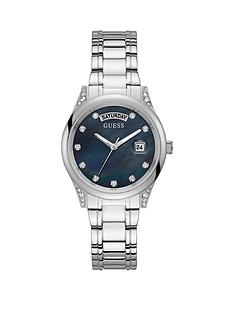 guess-guess-aura-black-dial-stainless-steel-ladies-dress-watch
