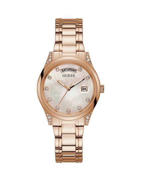 guess-guess-aura-rose-tone-stainless-steel-ladies-dress-watch