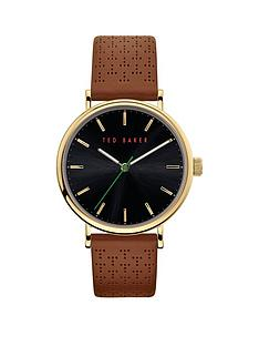 ted-baker-ted-baker-blue-and-silver-detail-dial-brown-leather-strap-mens-watch