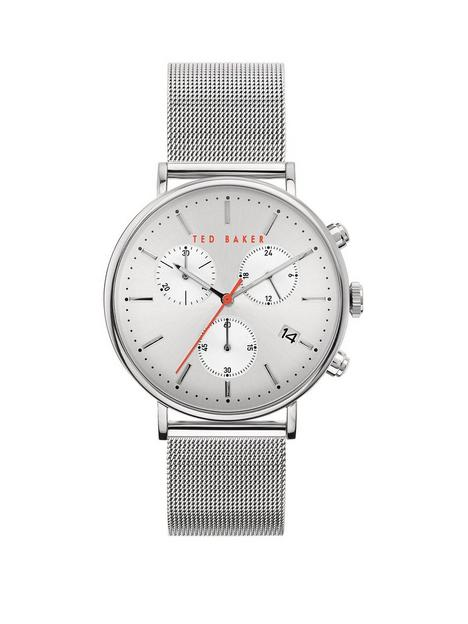 ted-baker-ted-baker-silver-sunray-chronograph-dial-stainless-steel-mesh-strap-mens-watch