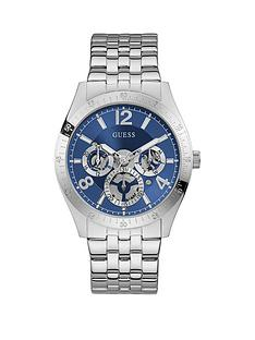 guess-guess-vector-blue-chronograph-stainless-steel-mens-dress-watch