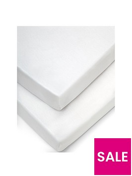 mamas-papas-2-cot-fitted-sheets-63x127cm