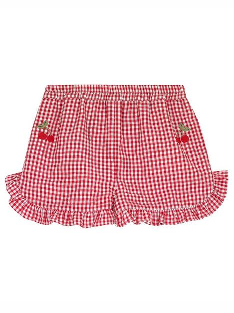 cath-kidston-girls-frill-gingham-shorts-red