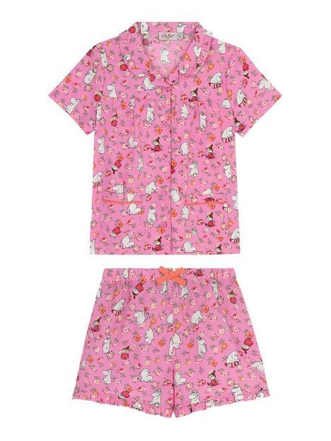 cath-kidston-girls-moomins-short-sleeve-woven-pyjamas-pink