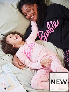 barbie-girls-barbie-logo-mini-me-pyjamas-pinknbsp