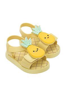 mini-melissa-mini-jump-fruitland-sandals-yellow