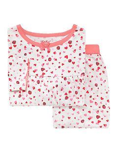 cath-kidston-girls-long-sleeve-mini-lovebugs-jersey-pyjamas-warm-cream