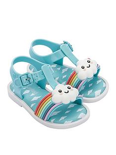 mini-melissa-mini-sunny-sandals-blue