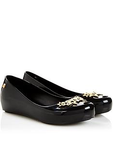 mini-melissa-kidsnbspultragirl-stars-shoes-black