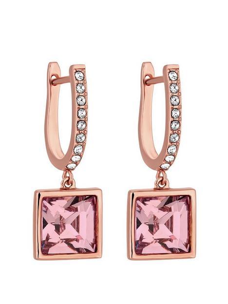 jon-richard-swarovski-rose-square-drop-earring