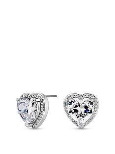 jon-richard-cubic-zirconia-heart-stud-earrings