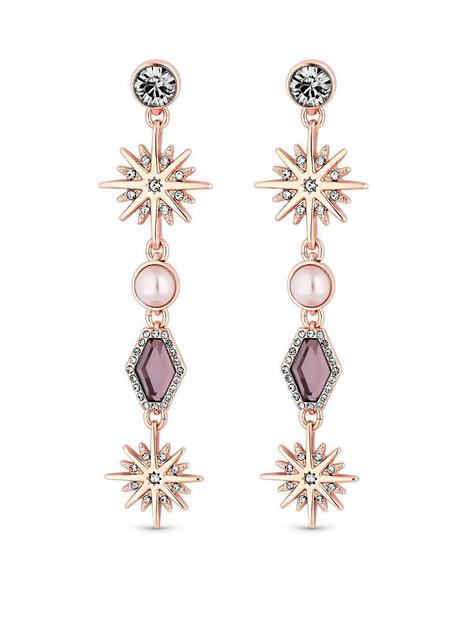 mood-rose-gold-pink-crystal-celestial-long-drop-earring