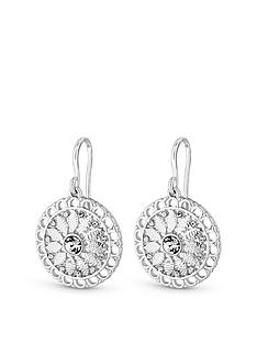 mood-silver-plated-filagree-disc-drop-earring