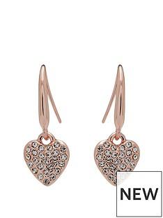 jon-richard-rose-gold-plate-heart-drop-earring