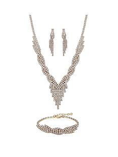 mood-rose-gold-plated-crystal-diamante-3-piece-set