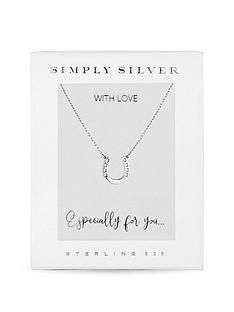 simply-silver-simple-silver-sterling-silver-925-horseshoe-pendant