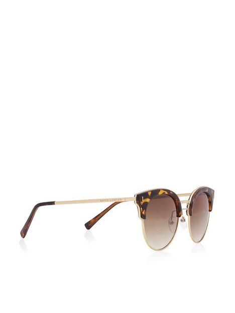 katie-loxton-cateye-sunglasses-gold