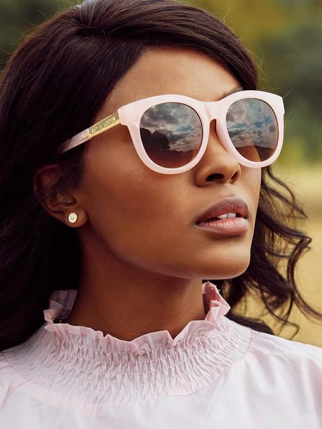 katie-loxton-round-sunglasses-pink