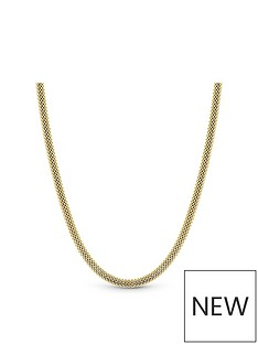 simply-silver-simply-silver-sterling-silver-925-yellow-gold-oval-allway
