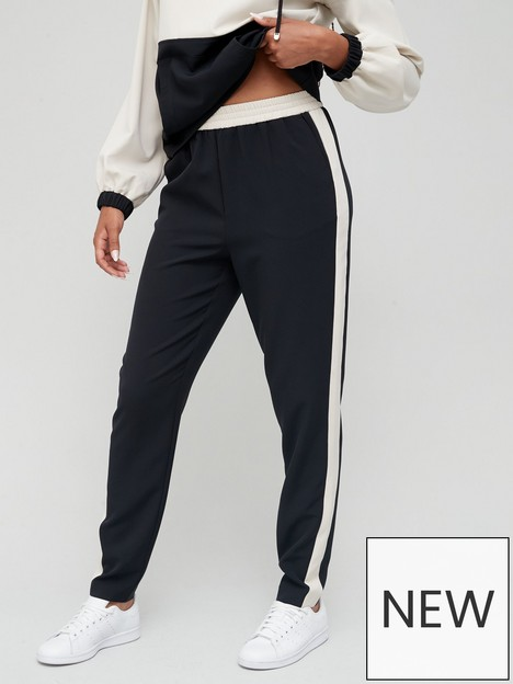 v-by-very-woven-colour-block-side-jogger-black