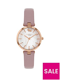 radley-white-dial-taupe-strap-watch