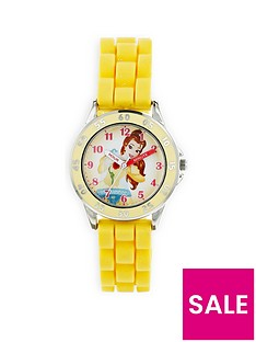 disney-princess-belle-yellow-kids-watch