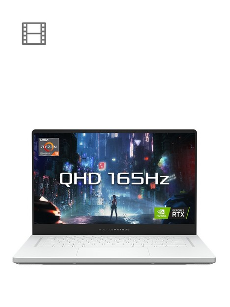 asus-zephyrus-g15nbspga503qs-hq003t-gaming-laptop-15in-qhd-165hz-amd-ryzen-9-5900hsnbspgeforce-rtx-3080nbspryzen-9-5900hsnbsp32gb-ram-1tb-ssd-white