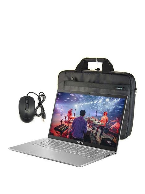 asus-x515ma-br222t-laptop-with-bag-amp-mouse-15in-hdnbspintel-celeronnbsp8gb-ram-1tb-hard-drivenbspoptional-microsoftnbsp365-family-15-months-silver