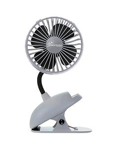 dreambaby-dreambaby-usb-rechargeable-clip-on-caged-fan-grey