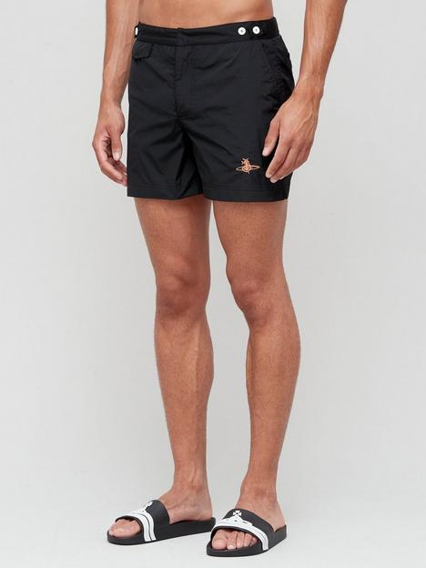 vivienne-westwood-orb-lux-swim-shorts-black