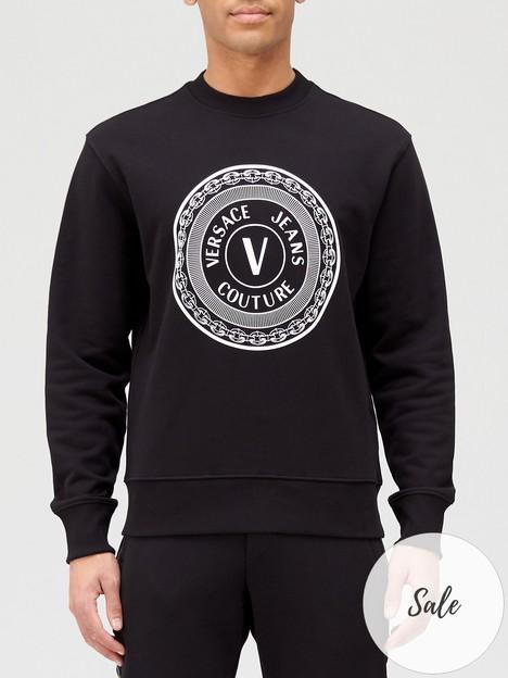versace-jeans-couture-circle-logo-sweatshirt-black