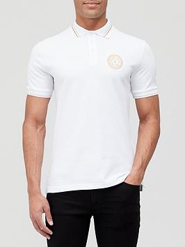 versace-jeans-couture-gold-coin-logo-polo-shirt-white