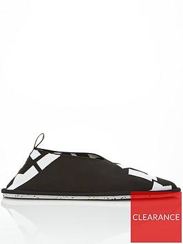 kenzo-recycled-slip-on-logo-shoes-black