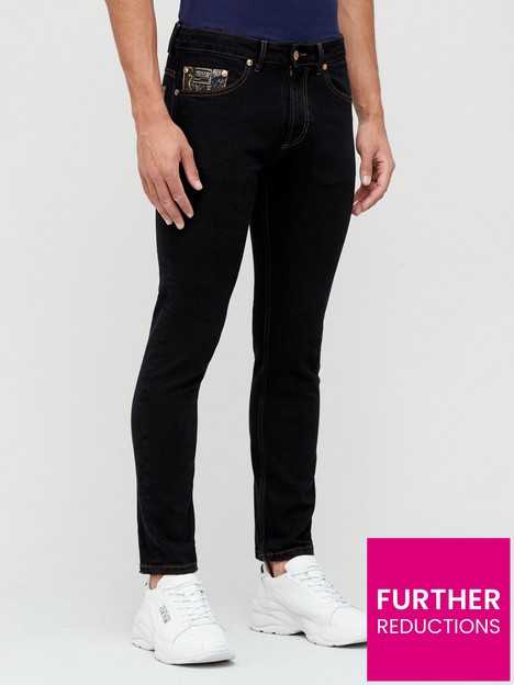 versace-jeans-couture-skinny-fit-jeans-black