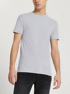 river-island-muscle-fit-short-sleeve-t-shirt-grey