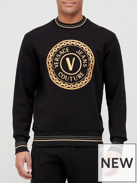 versace-jeans-couture-classic-logo-sweatshirt-black